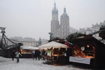 Krakow Christmas Market with Mulled Wine and Food Tastings