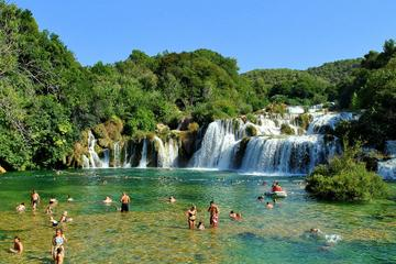 Krka Waterfalls and Sibenik Town
