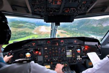Landing Challenge in a Flight Simulator at Birmingham Airport