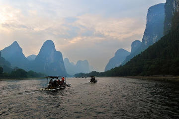 Li River Bamboo Rafting Day Tour from Guilin