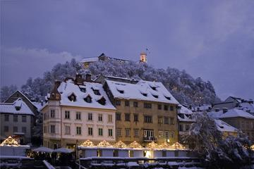 Ljubljana Lights and Delights Winter Christmas Market Tour with Mulled Wine and Local Snacks
