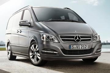 Luxury Van Private Departure Transfer: Vienna International Airport