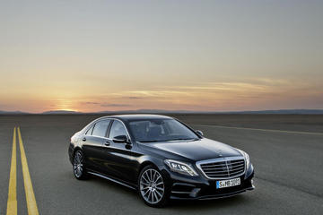 Luxury Vehicle Private Arrival Transfer: Vienna International Airport