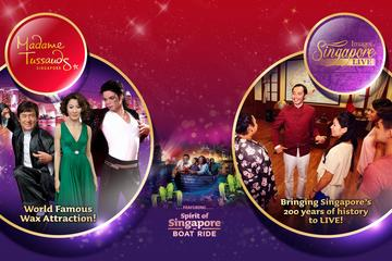 Madame Tussauds Singapore Full Experience Ticket