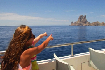 Magic Rock Es Vedra Cruise in Ibiza