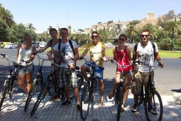 Malaga City Bike Tour: Roman Theater, Gibralfaro Castle and Malaga Cathedral