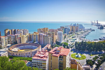 Malaga City Tour by Open-Top Bus