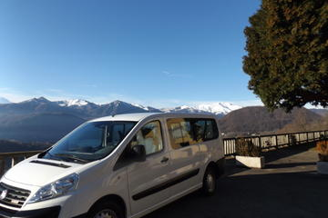 Malpensa to Lake Orta Taxi Transfers