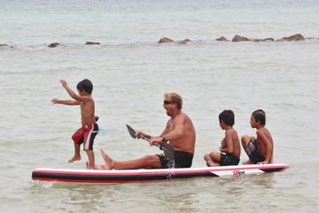 Maui Paddle Stand-Up Paddleboard On The Coast Of Kahului