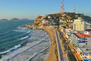 Mazatlan City Sightseeing Tour with Beach Time and Lunch