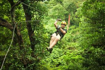 Mazatlan Super Saver: Canopy Zipline plus ATV Adventure