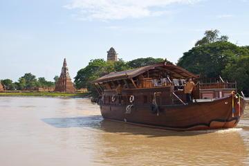 Mekhala River Cruise: Overnight from Ayutthaya to Bangkok