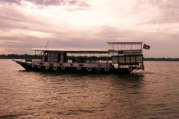 Mekong and Tonle Sap River Sunset Cocktail Cruise with Dinner Option