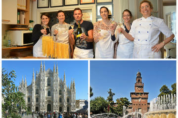Milan Cooking Class and Walking Tour