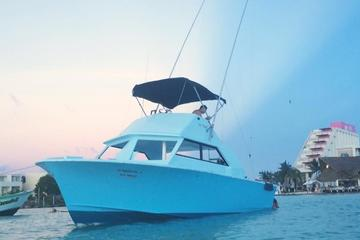 Isla Mujeres Mixed Trip Fish and Snorkel Private VIP Tour 1 To 6 People