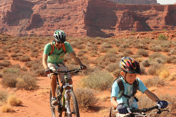 Moab Courthouse Loop Mountain Biking Experience