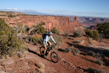 Moab Dead Horse Point Mountain Biking Experience