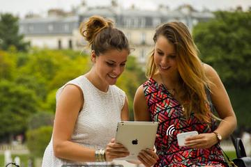 Mobile Wifi everywhere in Paris