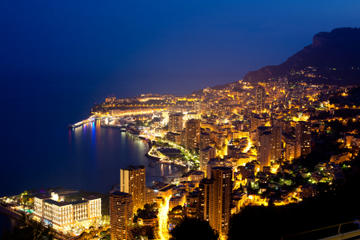 Monaco Small-Group Night Tour from Cannes