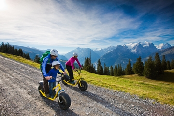 Monster Scooter Tour from Interlaken with Optional Fondue Dinner