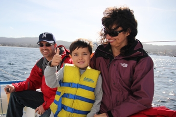 Monterey Bay Sailing Wine Cruise