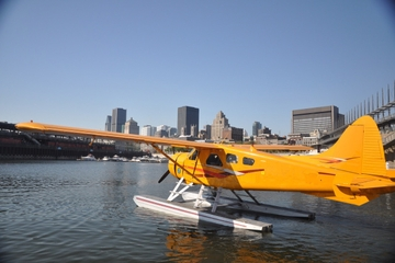 Montreal Seaplane Flight with Overnight Stay at Fairmont Le Château Montebello