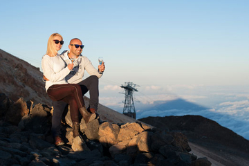 Mt Teide Sunset and Stargazing Experience in Tenerife Including Champagne and Dinner