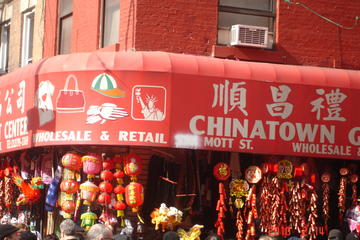 New York Chinatown and Historic Downtown Walking Tour