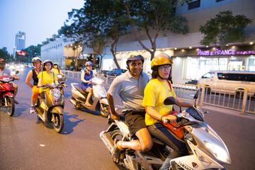 Night Street Food Tour of Ho Chi Minh City by Bike