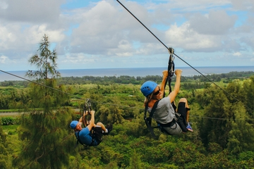 Oahu Zipline Tour from Waikiki