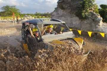 Off-Road UTV, Zipline with Paintball, or Mud Drag Racing Adventure in Cancun
