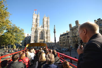 Open-Top Vintage Bus Tour of London and Christmas Lunch Cruise