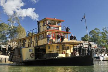 Paddlesteamer Emmylou Murray River 90 Minute Cruise with Lunch Option from Echuca