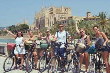 Palma Old Town and Castle Bike Tour