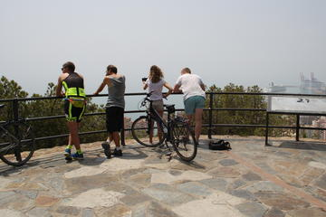 Panoramic Guided Bike Tour in Malaga