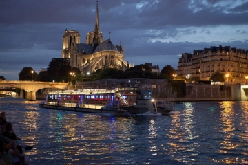 Paris Express Seine River Evening Cruise Tour