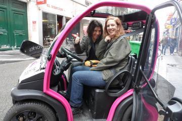 Paris Tour by Four Wheeled Electric Vehicle
