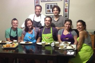 Peruvian Food Cooking Class with Pisco Sour and Fruit Tasting
