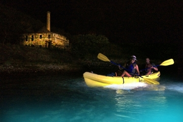 Pirates and Ghosts Night Kayak Tour in St Thomas