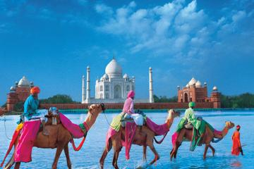 Private 4-Day Tour: Bespoke Golden Triangle tour with Camel Safari