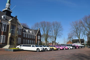 Private Amsterdam Airport Arrival Transfer in Stretch Limousine