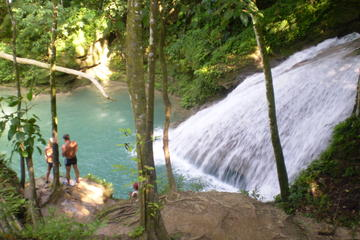Private Blue Hole and Secret Falls Day Trip from Falmouth