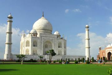 Private City Tour: Taj Mahal Sunrise and Sunset in Agra
