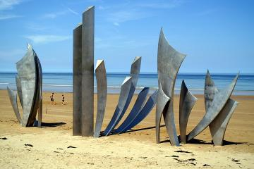 Private D-Day Normandy Landing Beaches Roundtrip with optional Guided Tour from Paris