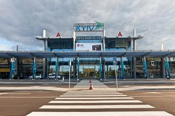 Private Departure Transfer: International Airport Kyiv Zhuliany from Kiev Hotel