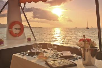 Private: Dinner by On Board Chef Sunset Sail From Koh Samui