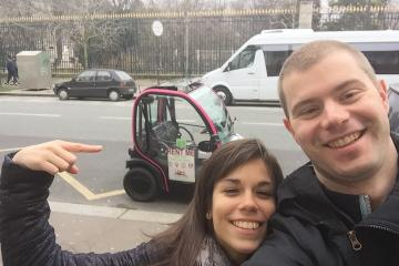 Private Electric Car Video Tour of Paris