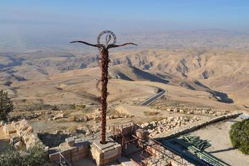 Private Full Day Tour Madaba Mount Nebo and Um Rasas from Dead Sea
