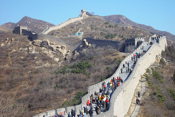 Private Great Wall of China Day Tour at Juyongguan, Badaling and Mutianyu