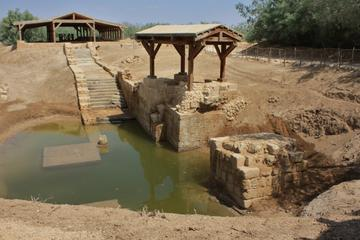 Private Half Day Tour Baptism Site or Bethany From Dead Sea